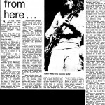 Interview with Mark Plummer early 70's