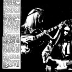 Concert review Rainbow early 70's